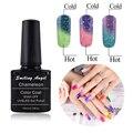 Smiling Angel Chameleon Temperature Change Color Soak off Gel Polish Thermal Gel UV Gel Kit Manicure Nail Gel Pick C09
