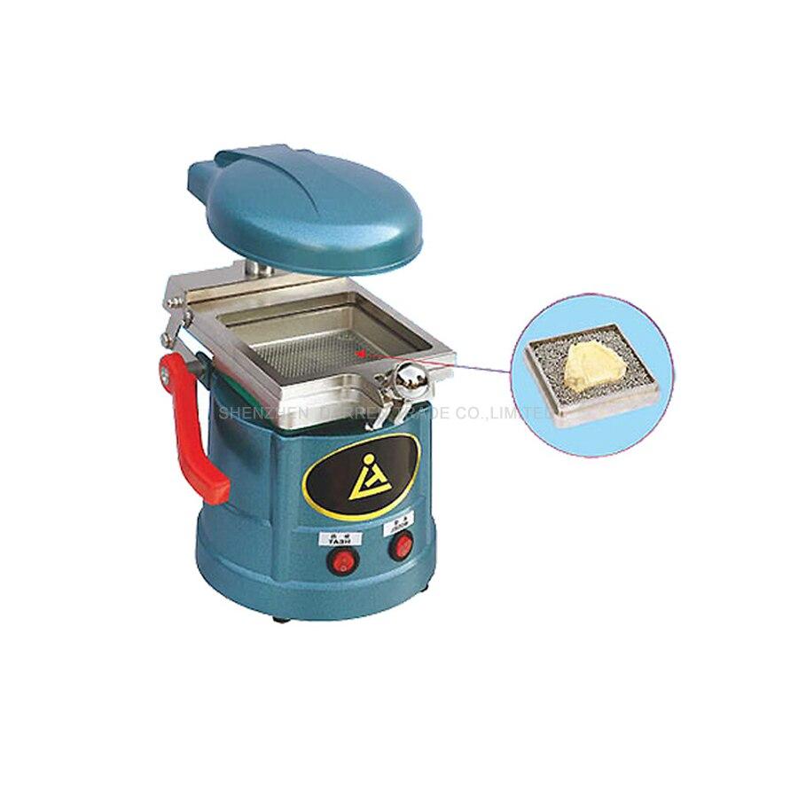 1 unid 220 V 800 W vacío dental y máquina de moldeo máquina laminadora equipo dental vacío que forma la máquina