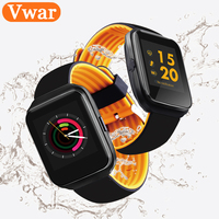 Vwar Bluetooth Smart Watch Blood Pressure Monitor Heart Rate Smartwatch Men Wearable Devices Watches For Apple
