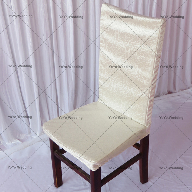 High Quality Jacquard Baroque Chair Cover Dining Room Restaurant Decoration For WeddingParty