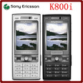 K800i Original Unlocked Sony Ericsson K800i 3G GSM Tri-Band 3.2MP Camera Bluetooth FM Radio JAVA Cell Phone Free Shipping