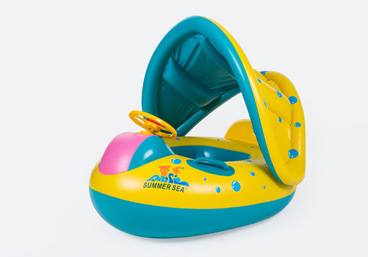 HOT Inflatable Kids Baby Swimming Ring Summer Swimming Swim Float Water Fun Pool Toys Swim Ring Seat Boat Sport For