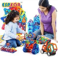 107 PCs Big Size Magnetic Designer Building Blocks Model Building Toys Brick Enlighten Bricks Magnetic Toys