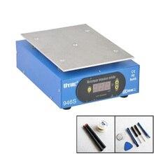 予熱 Statione + アクセサリー 9.6 インチ 220 ボルト/110 ボルト予熱器デジタルプラットフォーム加熱用の電話の液晶画面セパレーター 946 s