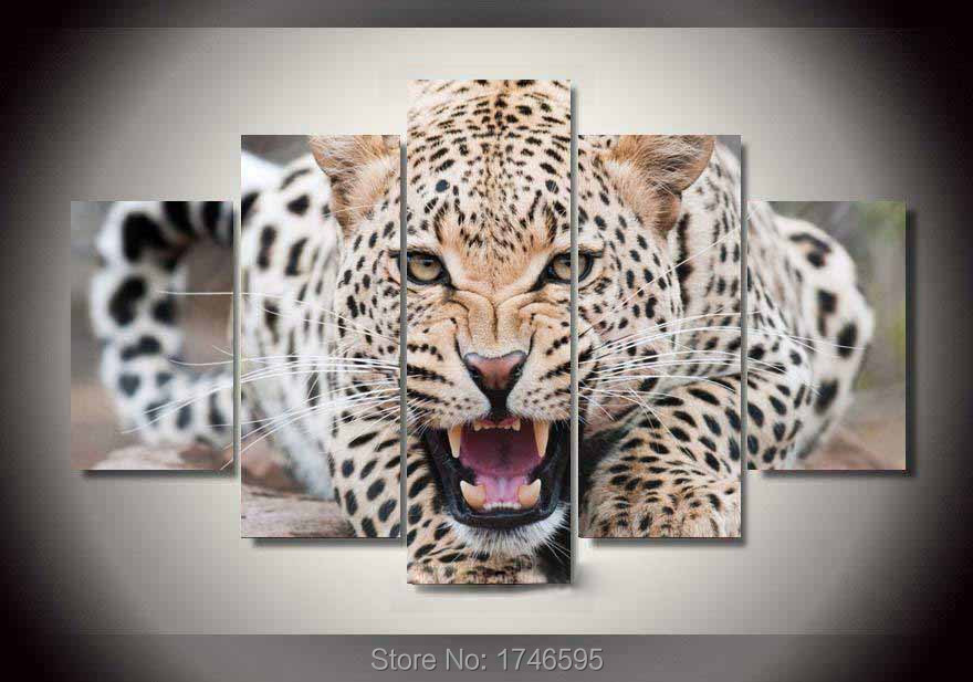 Leopard Wall Decor compare prices on leopard canvas art- online shopping/buy low