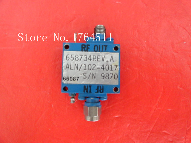 [BELLA] CTT ALN-102-4017 Vin:15V SMA Supply Amplifier