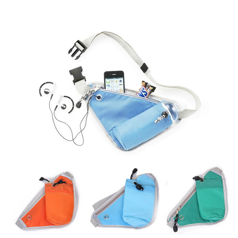 Multipurpose Leisure Waist Baby Bottle Bag Cycling Waistbags With Earphone Hole New 2016 a0425DBO