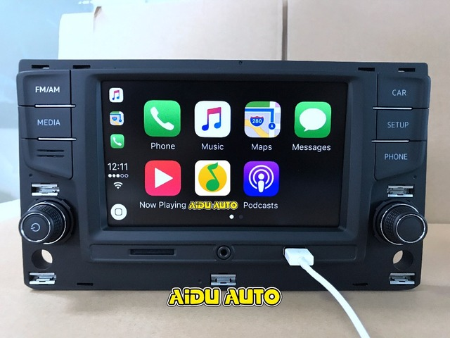 "For VW Golf 7 MK7 VII Passat B8 MQB Tiguan Carplay 6.5"" MIB Radio with Touch Screen 5GD035280B 5GD 035 280 B"