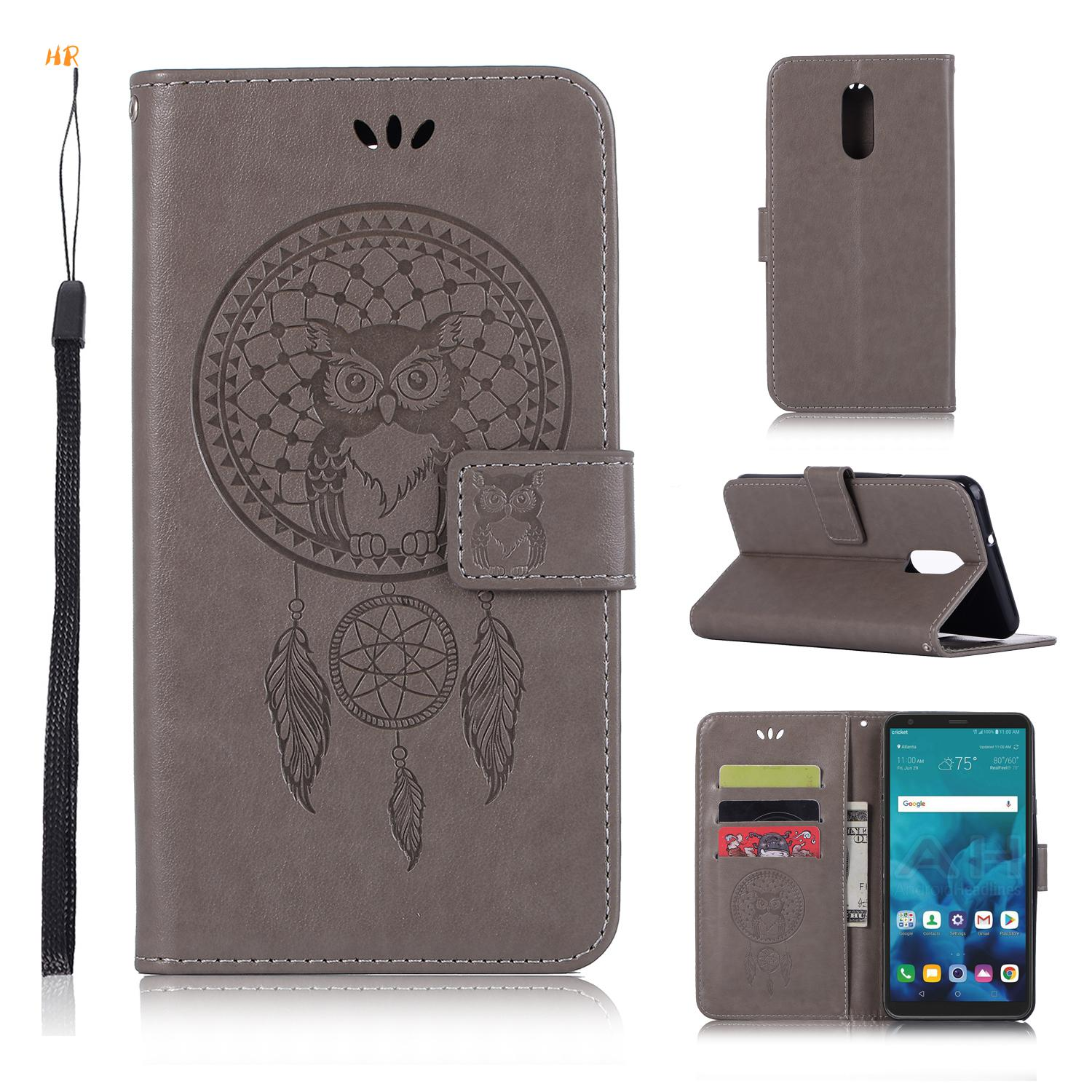 For Lg Stylus 2 K520 New Leather Flip Book Wallet Phone Case Cases, Covers & Skins Tempered Glass