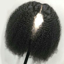 150% Density Lace Front Human Hair Wigs For Women With Black Afro Kinky Curly Glueless Brazilian Remy Hair 13X4 Lace Wigs(China)