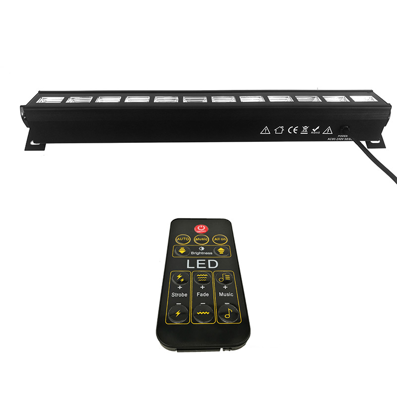 Includes The UC IR Wireless Remote Control 12x3w LED Wall Wash Stage Light Only Ultraviolet Color LED Stage Lights For Bar Club Includes The UC IR Wireless Remote Control 12x3w LED Wall Wash Stage Light Only Ultraviolet Color LED Stage Lights For Bar Club