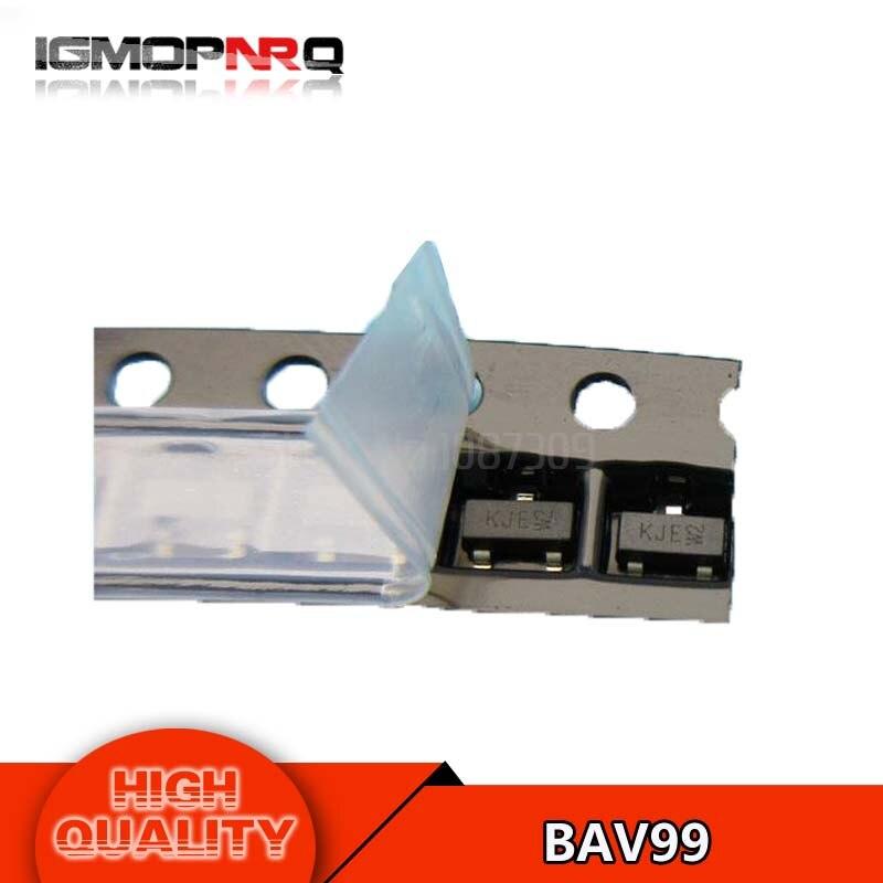 50pcs free shipping BAV99 BAV - General Purpose, , Switng 70V 200mA A7 SOT23-3 new original