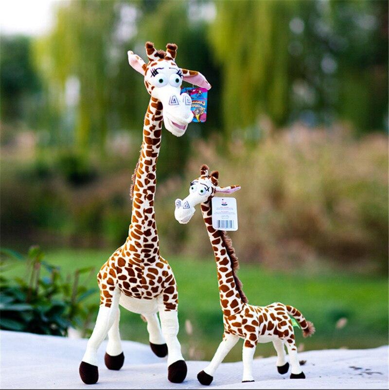 37cm design madagascar giraffe plush toys melman deer doll - Girafe madagascar ...