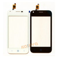 Black White TP For ZTE Blade L110 Touch Screen Digitizer Front Glass Panel Sensor No LCD