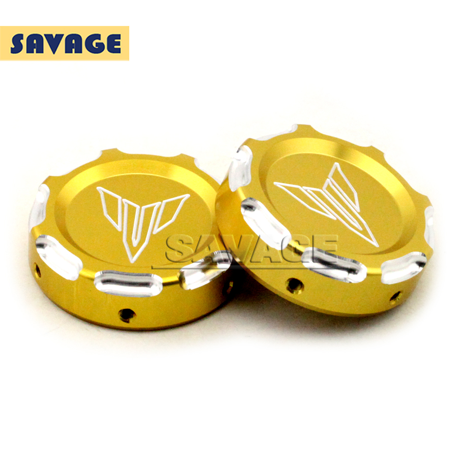 Подробнее о For YAMAHA MT-07 FZ-07 MT07 FZ07 2014 2015 2016 Gold Motorcycle Accessories CNC Aluminum Front Fork Decorative Cover Cap motorcycle cnc billet aluminum front fork cover caps for yamaha mt07 fz07 mt 07 fz 07 2014 2015 red free shipping