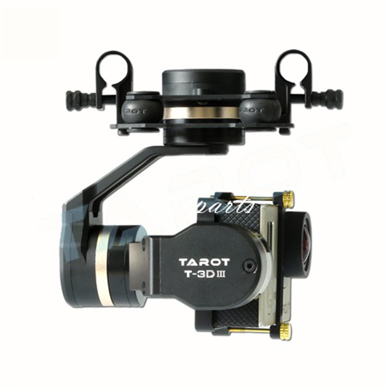 Tarot TL3T01 3 Aixs cardan sans brosse pour bricolage RC Drone caméra Gopro HERO3 HERO4 Sport caméra photographie aérienne FPV - 2