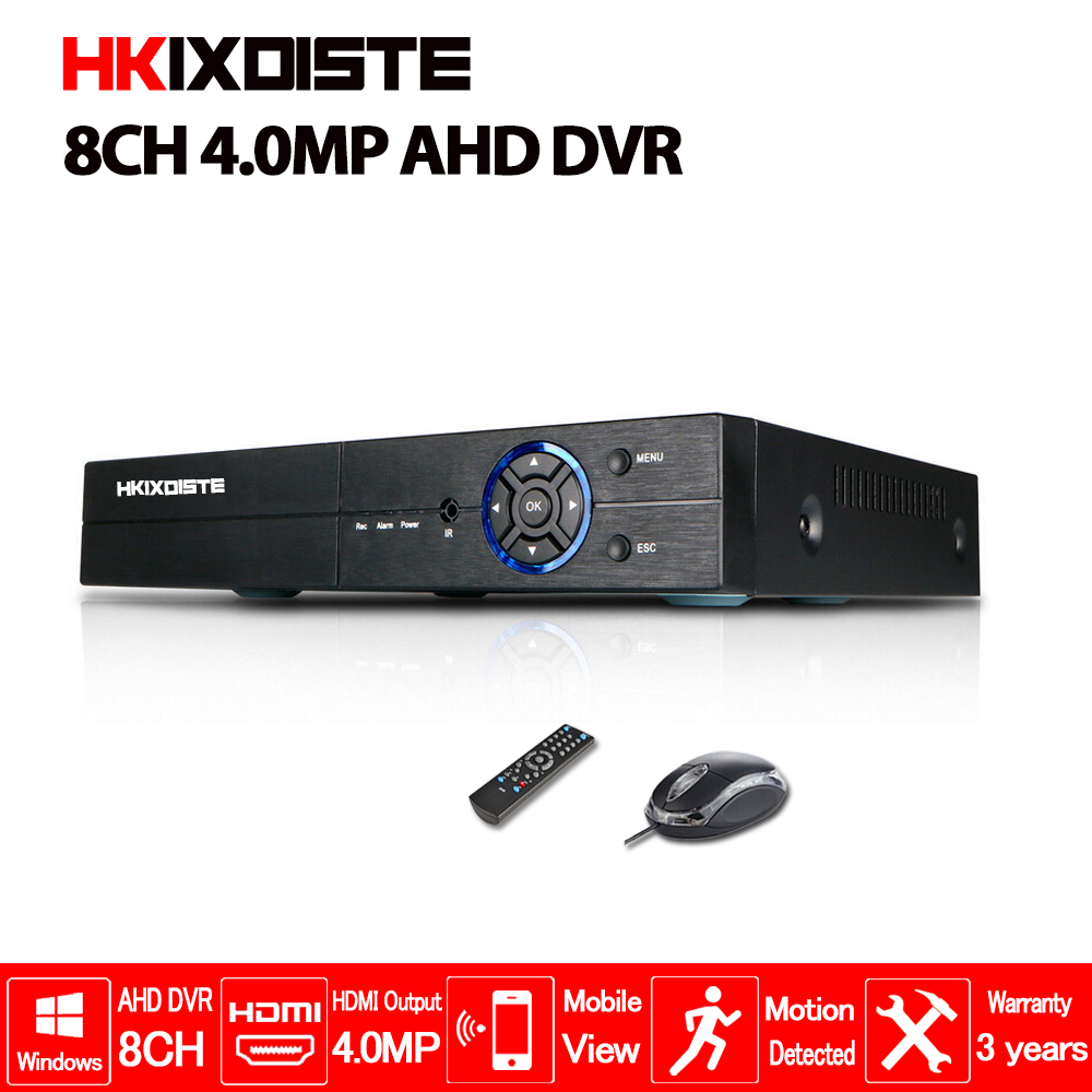 5 IN1 AHD CVI TVI CVBS NVR 4Ch 8Ch 16Ch 4MP 5MP 2MP Security CCTV DVR NVR XVR Hybrid Video