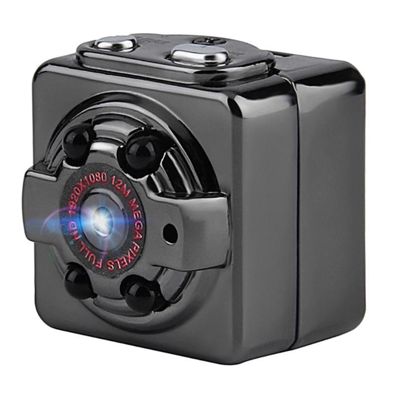 Alloyseed negro SQ8 Mini USB Car DVR Cámara Full HD 1080 p visión nocturna de detección de movimiento videocámara DC 5 V 1920*1080
