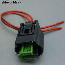 Shhworldsea 2 pin автомобильный водонепроницаемый для BMW на открытом воздухе разъем датчика температуры Авто кислорода разъем датчика 1-967644-1 968405-1