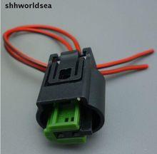 Shhworldsea, 2-контактный автомобильный водонепроницаемый для BMW, внешний фонарь, автомобильный фонарь 1-967644-1 968405-1