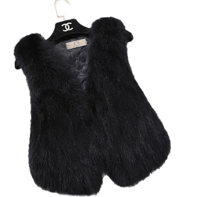FTLZZ Genuine Raccoon Fur Vest Women Short Design Natural Fur Gilet 100% Real Fur Coat Casual Plus Size Vests