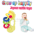 New baby toys 0-12 months Plastic Baby Rattles Cartoon hippocampus educational toys for kids newborn teethers baby hand rattles