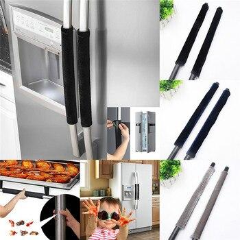 Kitchen Appliance Handle Cover Refrigerator Door Handle Cover Antiskid Protector Gloves for Fridge Oven Keep off Fingerprints