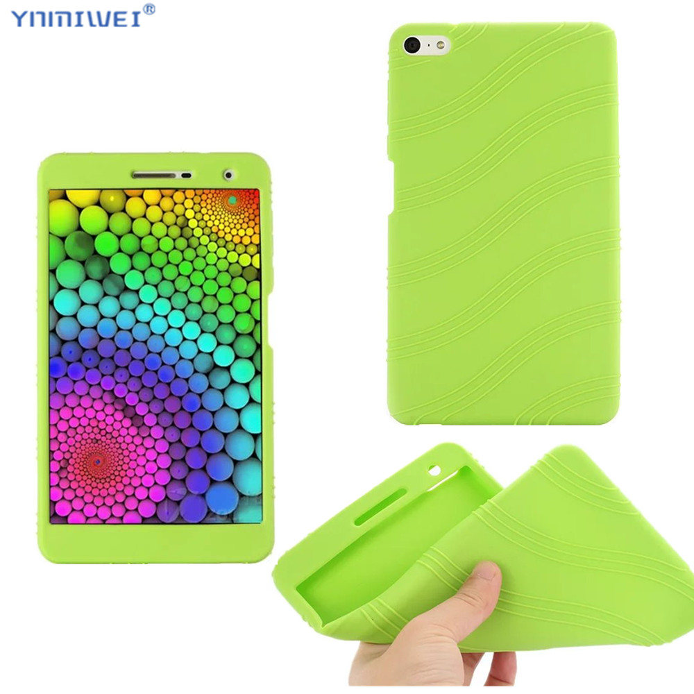 Silicon Case For Huawei Mediapad M2 Lite 7.0 PLE-703L Soft Protect Shell For Huawei M2 7.0 Inch Tablet Case