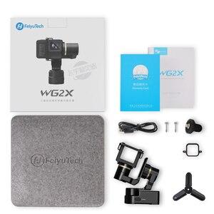 Image 5 - FeiyuTech Feiyu WG2X giyilebilir Gimbal Tripod 3 eksenli sabitleyici GoPro Hero 8 7 6 5 4 Sony RX0 YI 4K eylem kamera sıçrama geçirmez