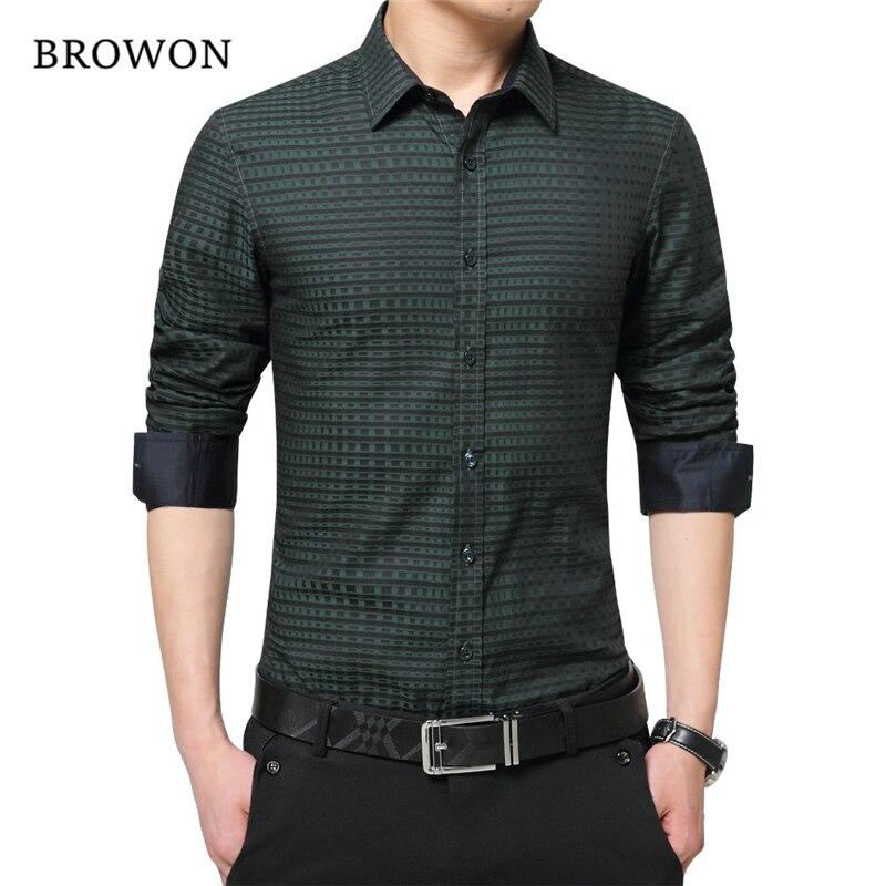 Berühmte Marke Mens Shirts Mode 2018 Frühling Herbst Luxus Männer Hemd Langarm Fit Checkered Plaid Shirts Männer Marke- Kleidung
