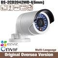 Hik Ds-2cd2042wd-i 6mm 2015 original 4mp Câmera de Segurança Ip RJ45 1080 p Nvr Dvr Infrared Onvif Protocolo Internet dia reino unido