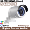 Hik Ds-2cd2042wd-i 6mm 2015 original 4mp Ip Security Camera RJ45 1080p Nvr Dvr Infrared Onvif Internet Protocal day uk