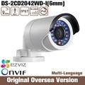 Hik Ds-2cd2042wd-i 6mm 2015 original 4mp Ip Security Camera RJ45 1080p Nvr Dvr Infrared Onvif Internet Protocal day uk