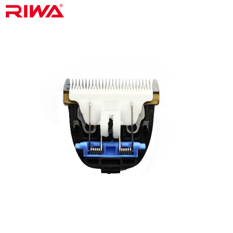 цена RIWA RE-750A Hair Clipper Blade Plated Titanium Ceramic Head Hair Styling Accessories