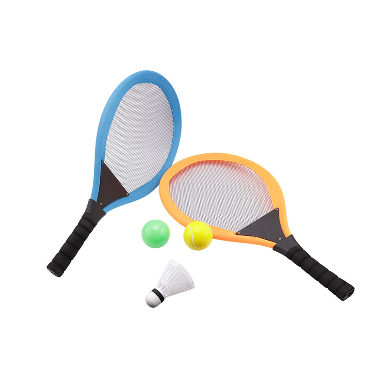 Nice 2 In 1 Badminton Tennis Rackets Beach Sport Toy Set With Ball Set Rackets Toy For Children Wholesale Drop Shipping