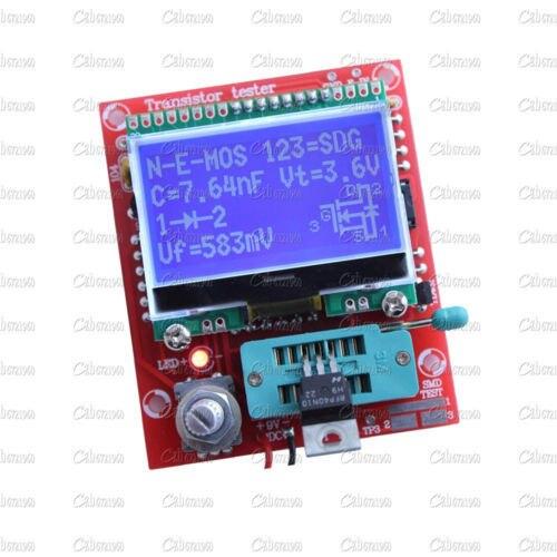 M328 ЖК 12864 DIY Транзистор Testeit Диод Триод Емкость СОЭ LCR Метр