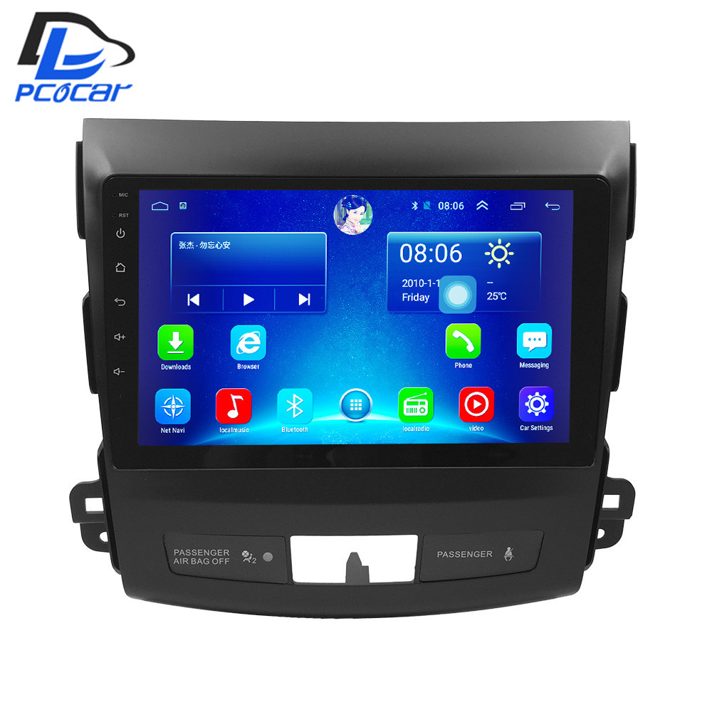 32G ROM android car gps multimedia video radio player in dash for Mitsubishi outlander 2003 2013
