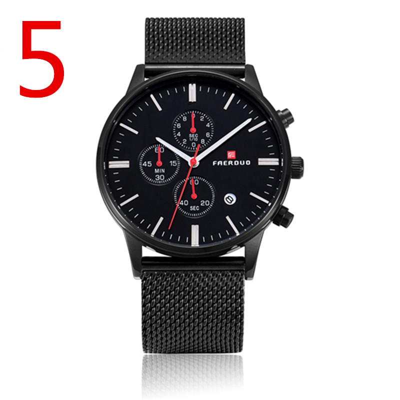 Mens business quartz watch, built-in calendar waterproof, excellent quality  Mens business quartz watch, built-in calendar waterproof, excellent quality