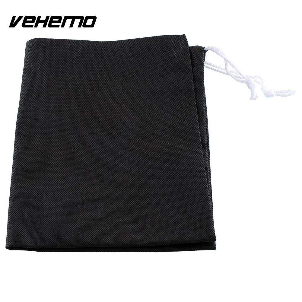 Vehemo Motorcycles Motorbike Bike 49X40cm Travel IT Drawstring Helmet Bag Black