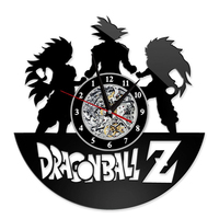 Anime new products Dragon Ball Goku wall clock living room clock personality props cosplay accessories unisex