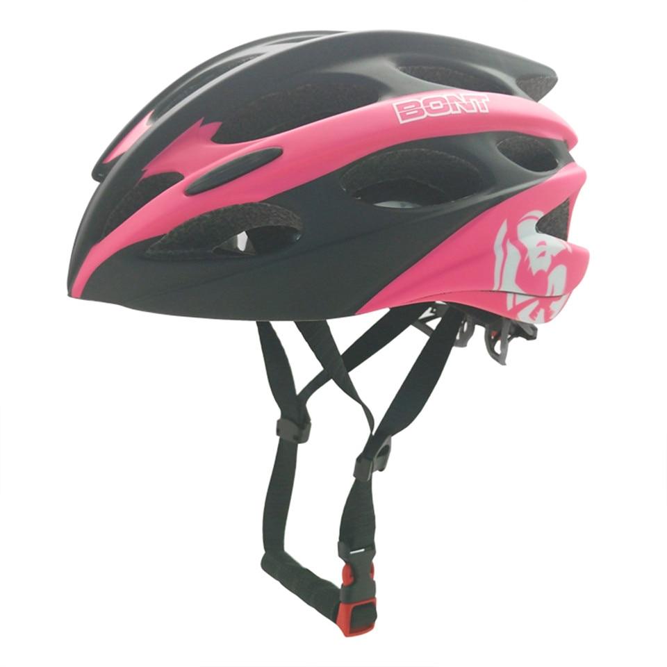 100% Original Bont Adult Ultralight Bicycle Helmet Cycling Helmet Speed Skating Skateboard Capacetes Of Road MTB Bike Helmet bont