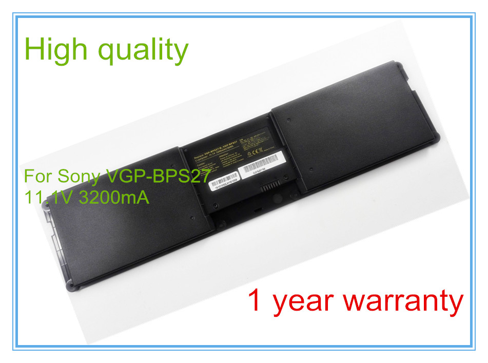 ФОТО New 3200mah Laptop Battery BPS27 BPSC27 for VPCZ21V9E VPCZ21V9E VPCZ21M9E VPCZ21 VPCZ214GX VPCZ213GX Series