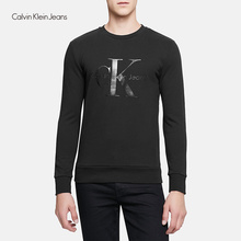 Calvin Klein Jeans / CK 2017 Autumn Winter Men's Slim Knitted Casual Sweatshirts Men Classic Sweater Letter Print Tops J306570