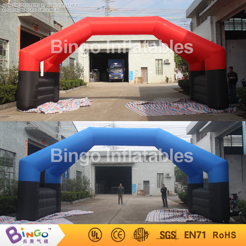 inflatable arch with removable banners for advetising 8m long,advertising arch with double pillars BG-A0934 toy 420d oxford inflatable arch inflatable archway 6 3 m with your logo
