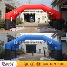 inflatable arch with removable banners for advetising 8m long,advertising arch with double pillars BG-A0934 toy