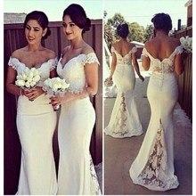 Sexy Sweetheart Lace Cap Sleeves Sexy Bridesmaid Dresses 2015 See Through Custom Made Mermaid Vestido De Festa De Casamento
