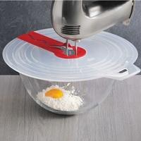 Practical Eggs Mixer Anti splash Lid Eggd Bowl Anti Splatter Cover Beat Cylinder Splash Guard Cooking Tools Kitchen Accessories Splatter Screens     -