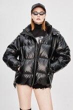 Invierno cálido largo ropa de nieve mujeres abrigo de algodón de manga larga abrigo grueso sólido Casual cremallera mujeres Tops ropa de invierno cálido en venta