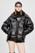 Kış sıcak Uzun Kar Giyim Kadın Pamuk Ceket Uzun Kollu Kalın Ceket Katı Rahat Fermuar Kadın Üstleri Sıcak Kış Giysileri satılık