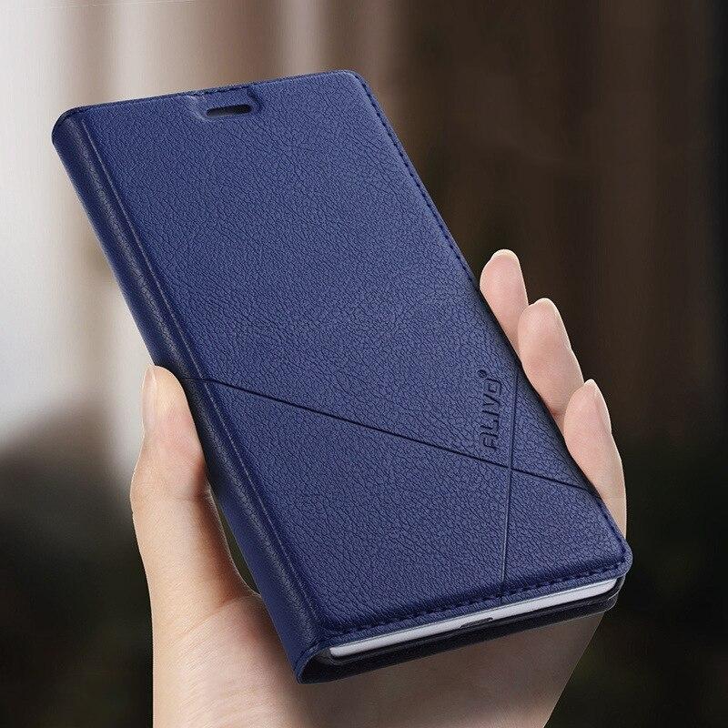 Per Xiaomi Redmi 5A Caso di Modo Semplice Cuoio DELL'UNITÀ di elaborazione Della Copertura di Vibrazione portafoglio Funda Carta Basamento Del Telefono Per Xiaomi Redmi Nota 5A Prime